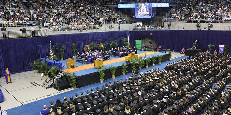 Ascension's Wheelchair Lifts are an ADA solution for graduation ceremonies by providing accessibility to stages for people with disabilities.