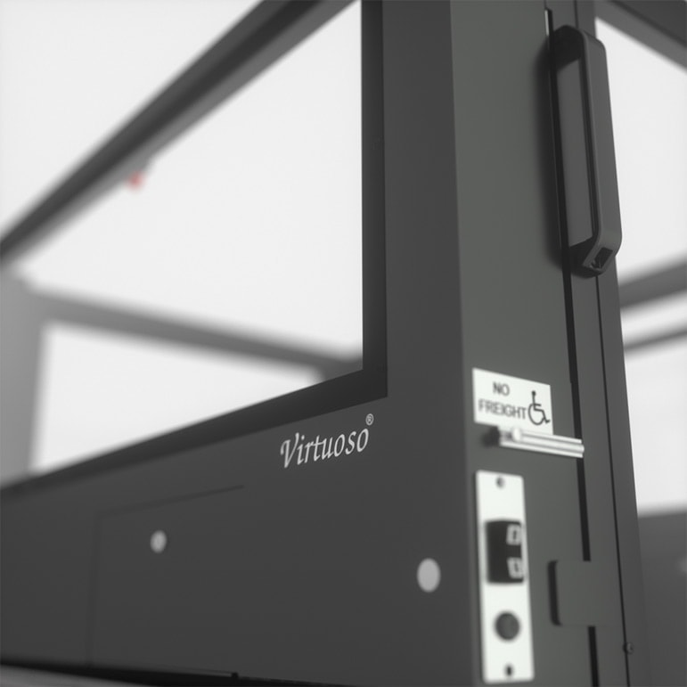Ascension Virtuoso Wheelchair Lift Close Up