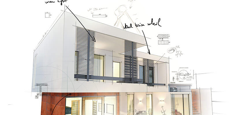 Student Architecture Drawings
