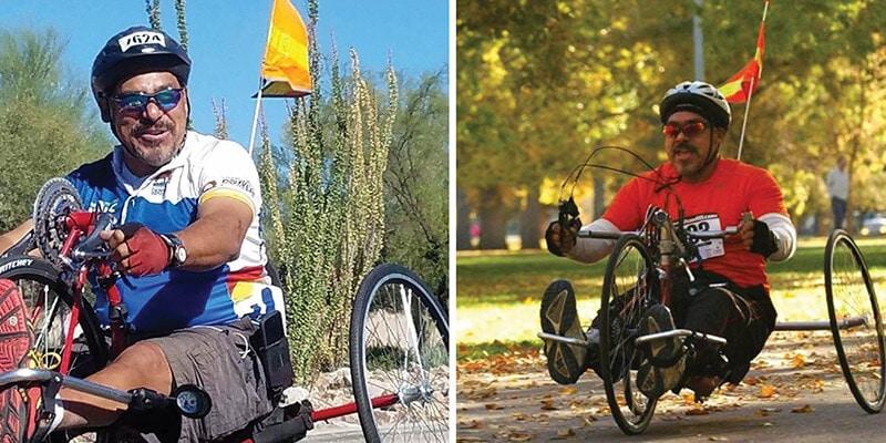 Ascension Cycling Team Rider Eduardo Aguirre