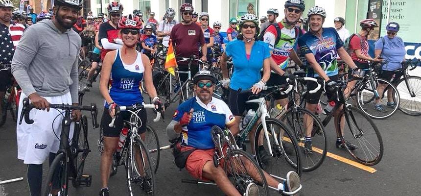 Ascension Cycling Team Eduardo Aguirre Group Shot