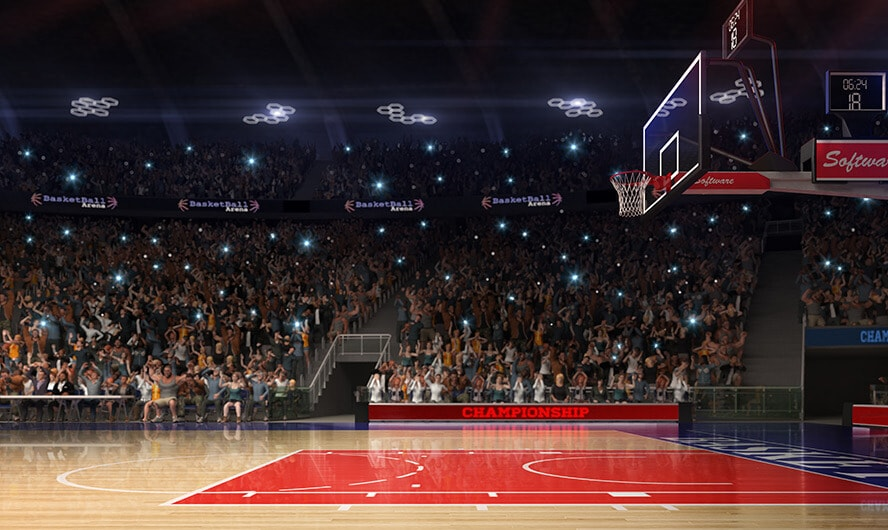 Basketball Sports Arena