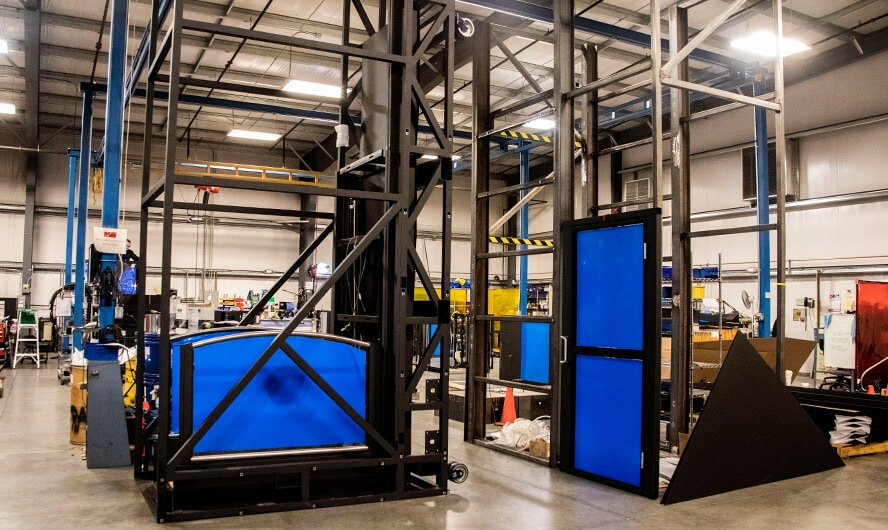 Ascension Wheelchair Lifts Being Built